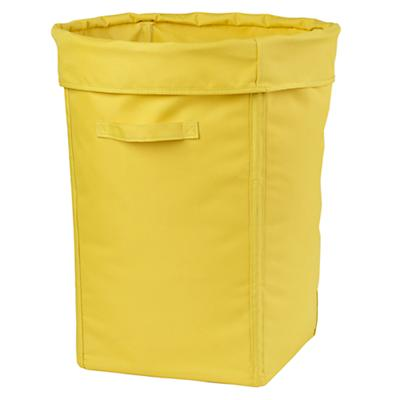 I Think I Canvas Hamper (Yellow)