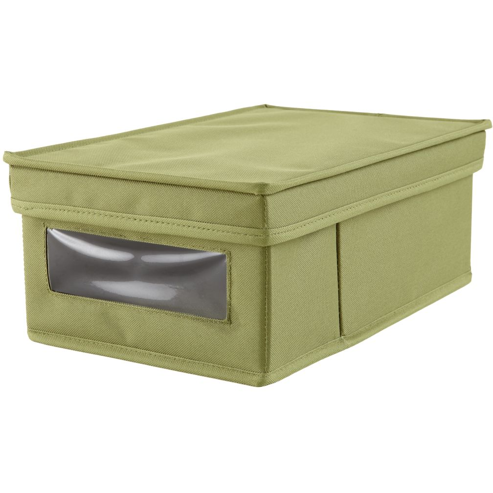 I Think I Canvas Shoe Box (Green)