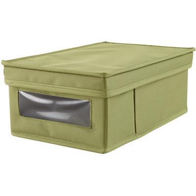 I Think I Canvas Shoe Box (Green)