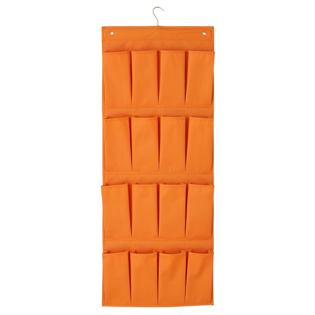 I Think I Canvas Shoe Hanger (Orange)