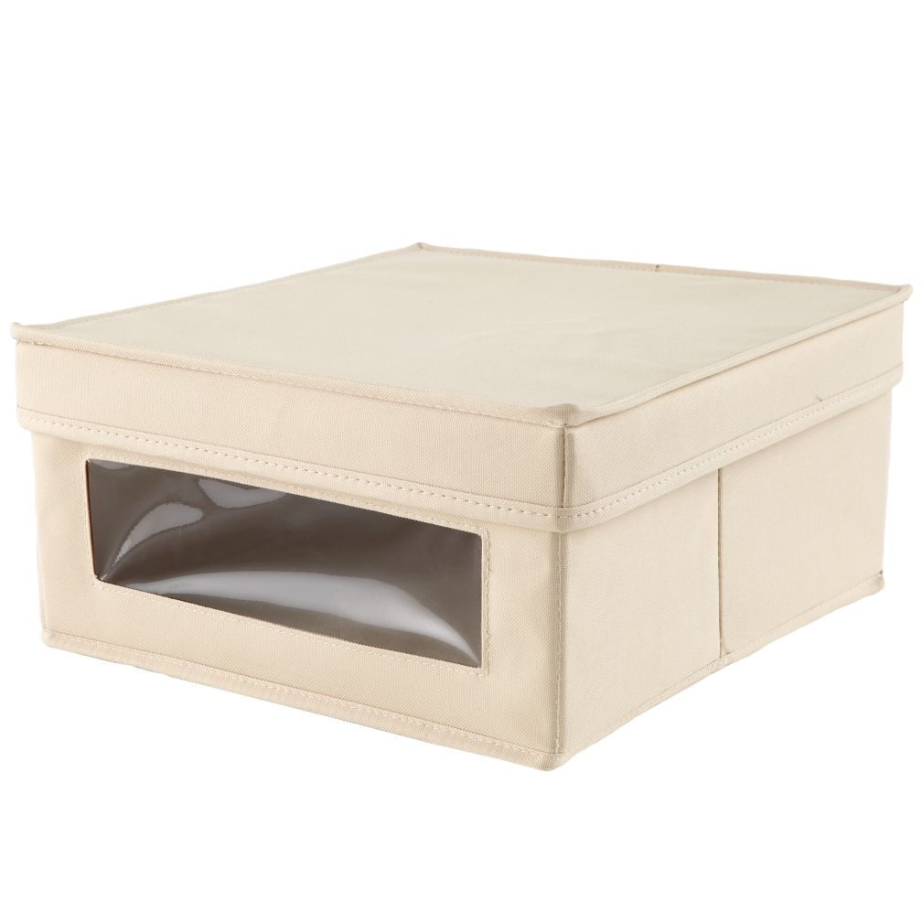 I Think I Canvas Sweater Box (Khaki)