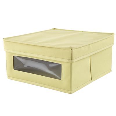 I Think I Canvas Sweater Box (Lt. Green)