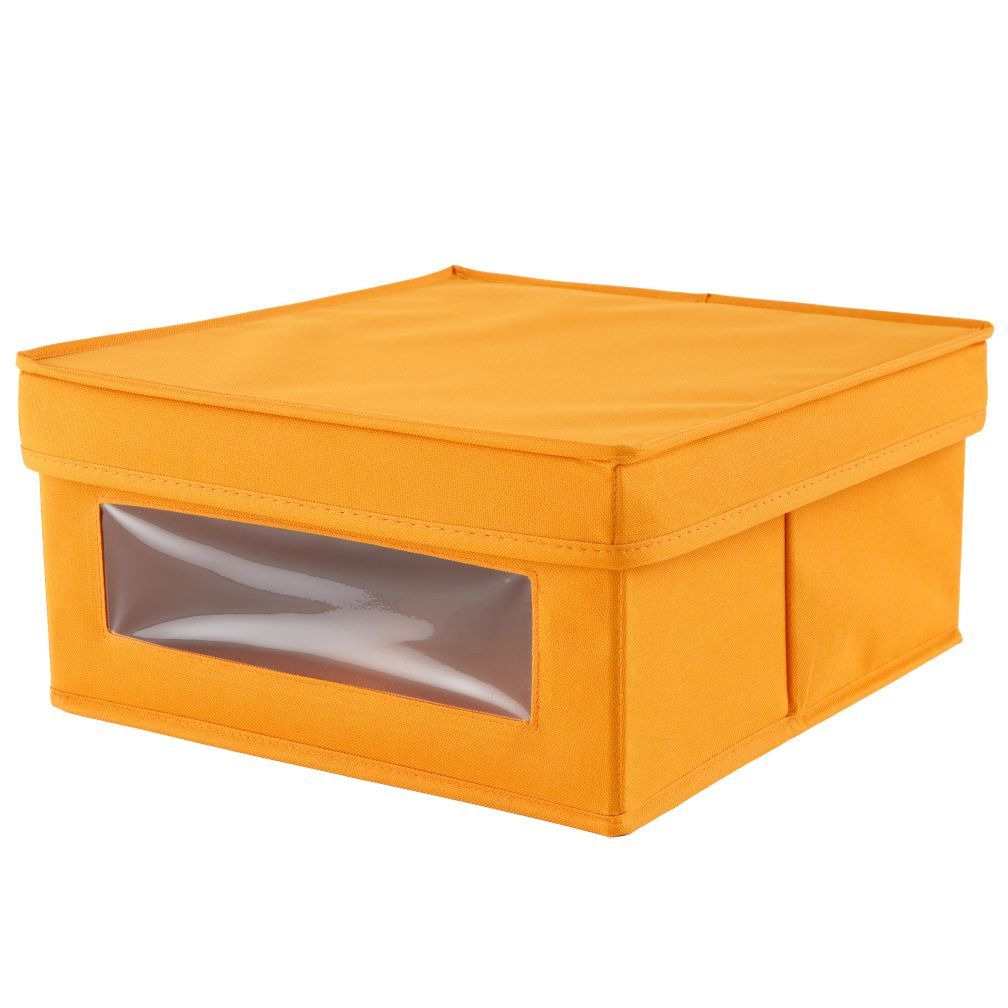I Think I Canvas Sweater Box (Orange)