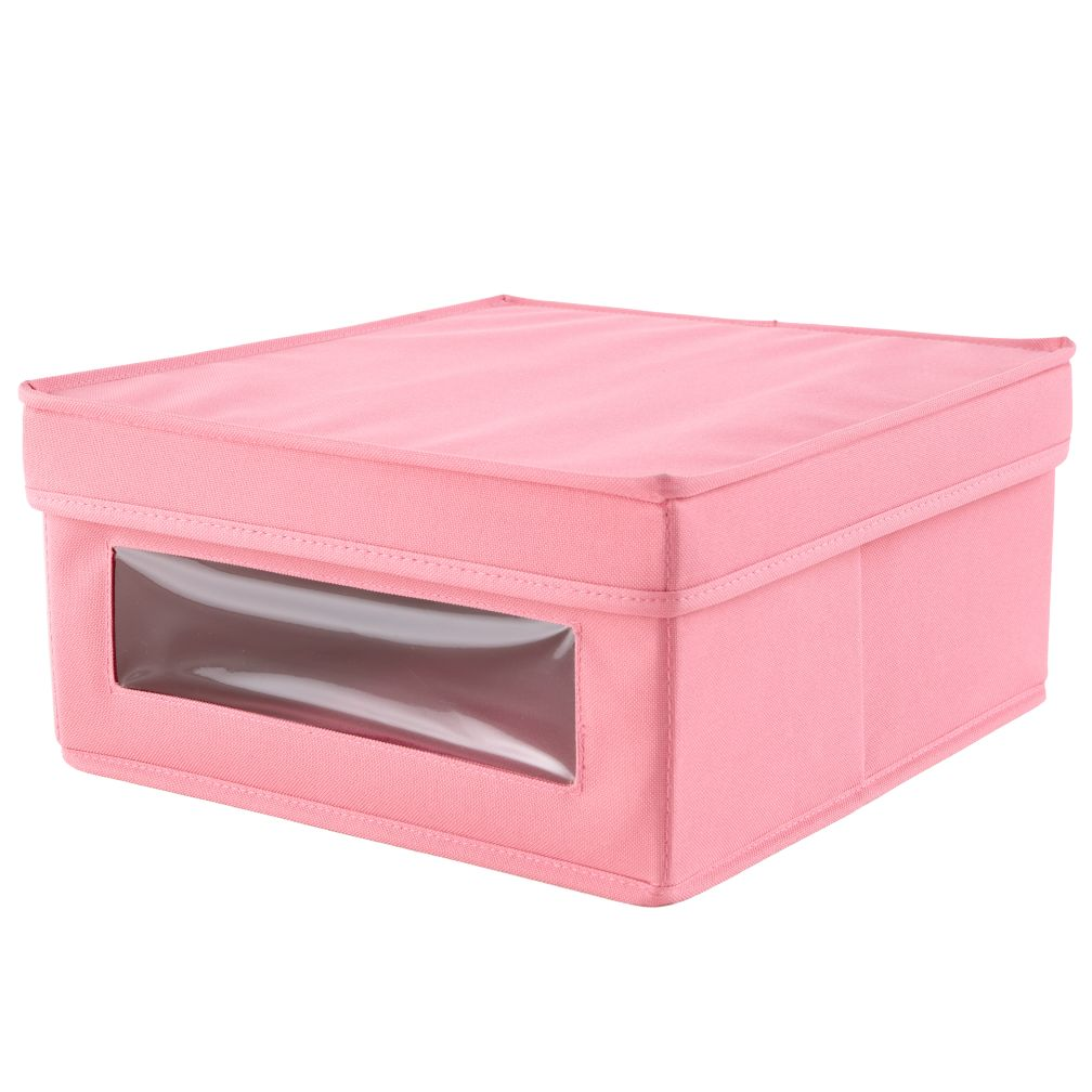I Think I Canvas Sweater Box Pink)
