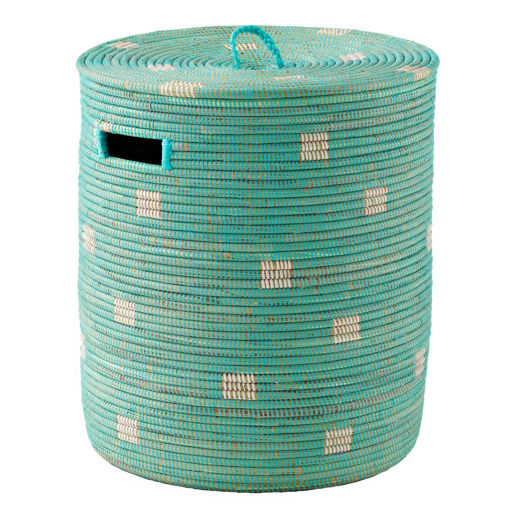 Charming Hamper (Dots/Aqua)