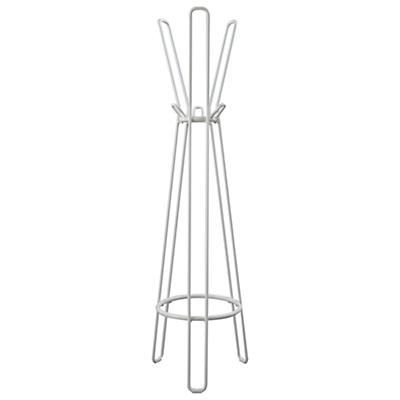 Basic Framework Coat Rack (White)