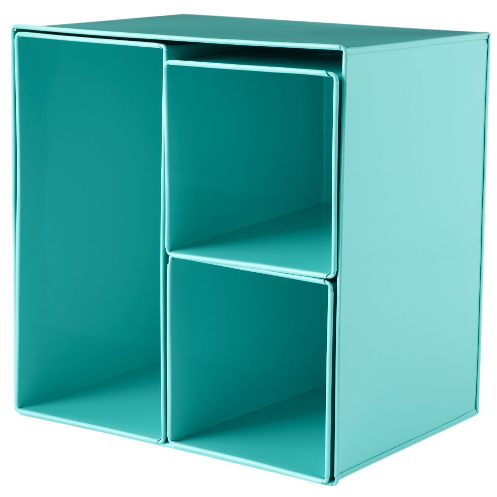 I Could&#39;ve Bin an Aqua Wall Box (Set of 4)