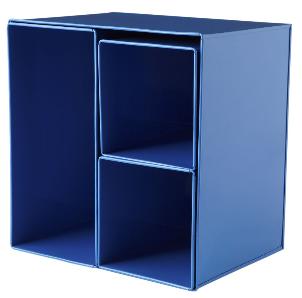 I Could've Bin a Blue Wall Box (Set of 4)