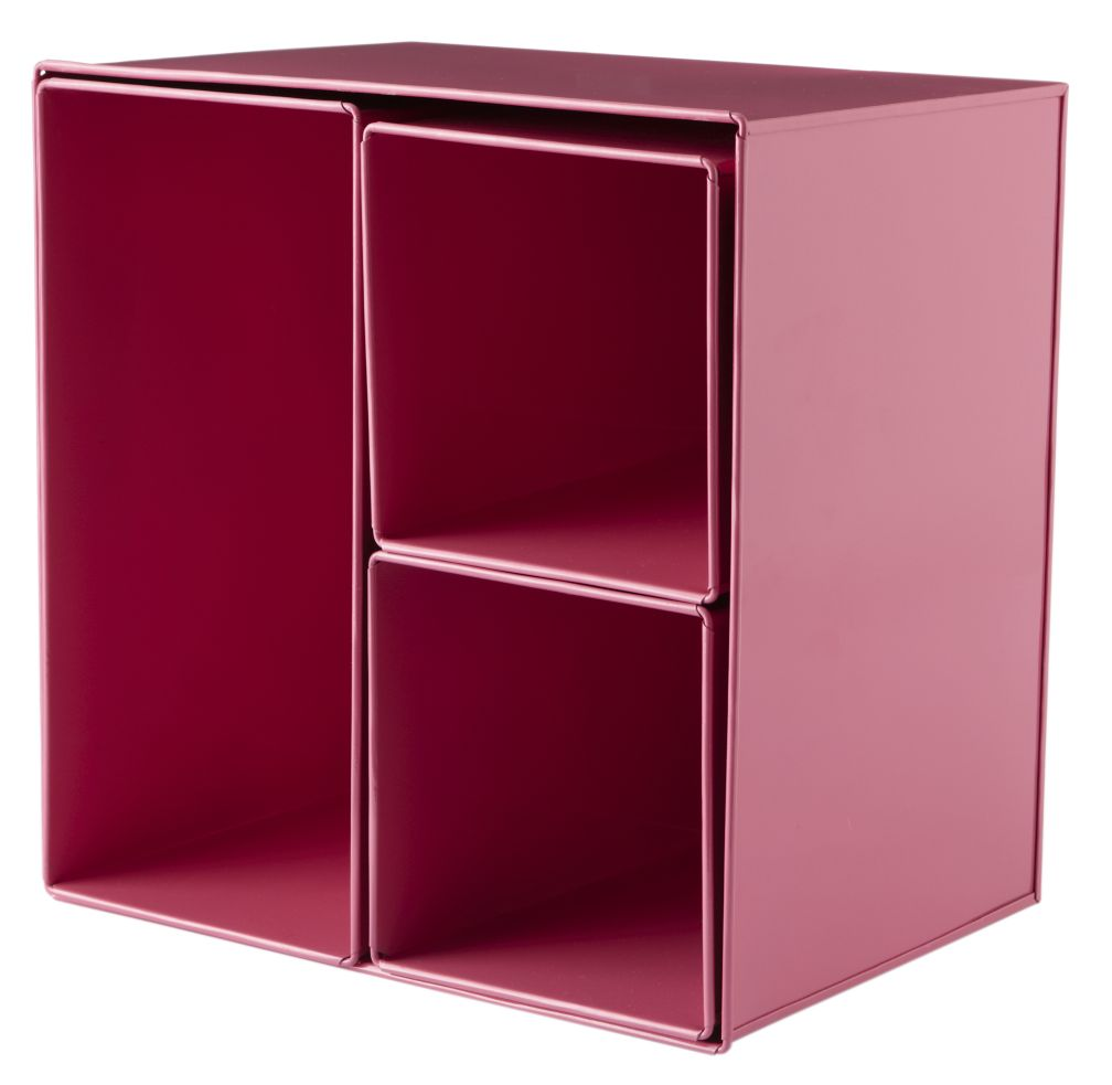 I Could've Bin a Pink Wall Box (Set of 4)