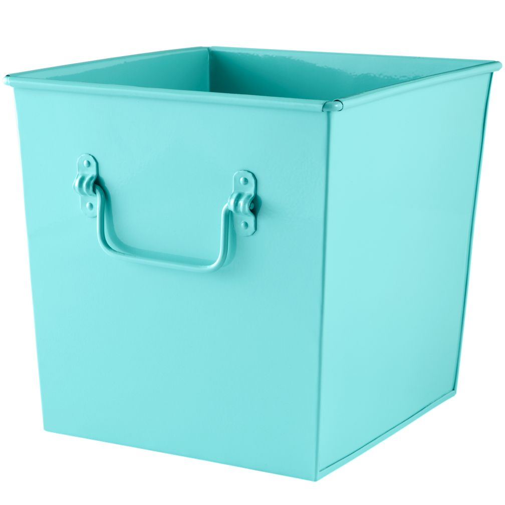 I Could&#39;ve Bin a Cube Bin (Aqua)