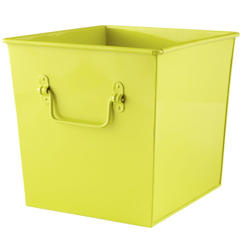 I Could&#39;ve Bin a Cube Bin (Lime)