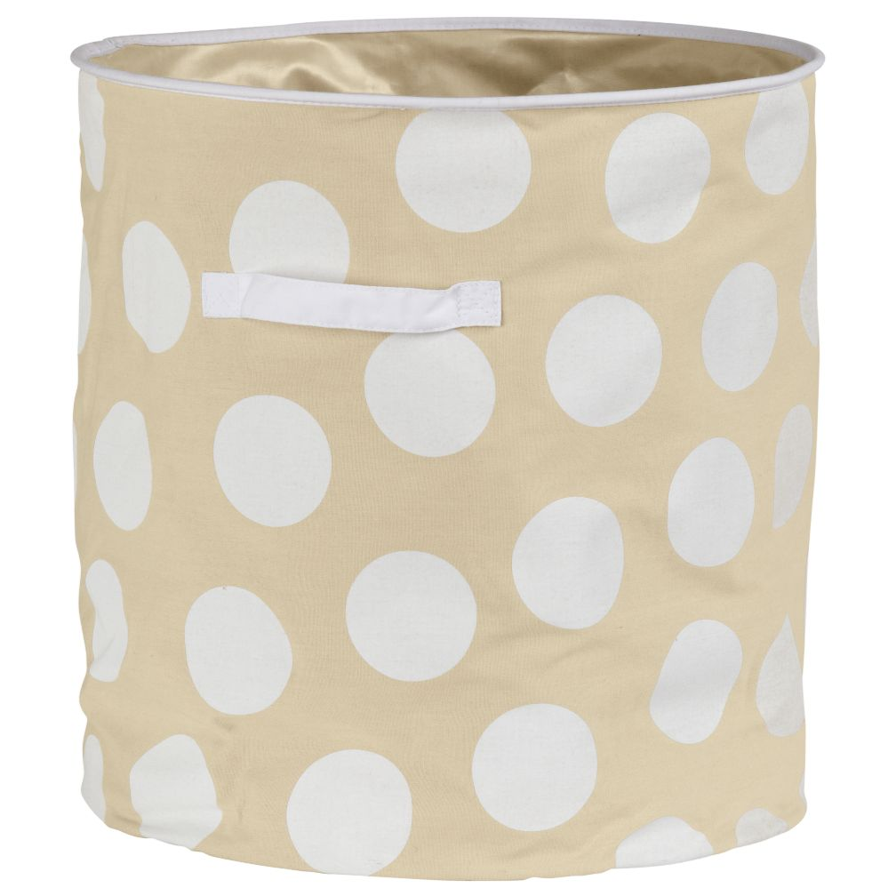 Dotted Floor Bin (White)