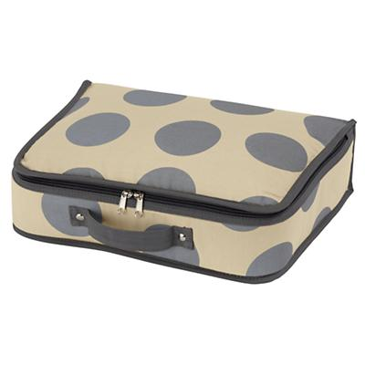 Dotted Suitcase (Grey)