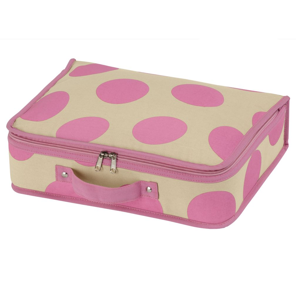 Dotted Suitcase (Pink)