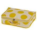 Yellow Dotted Suitcase