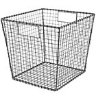 Grey Down to the Wire Cube Bin