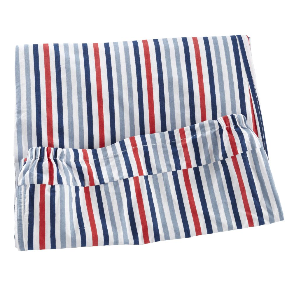 Down to the Wire Hamper Liner (Blue Stripe)