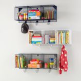 Down to the Wire 3-Cube Wall Shelf