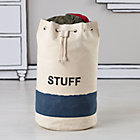Canvas Stuffle Bag