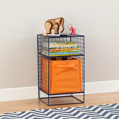 On the Grid Nightstand (Navy)