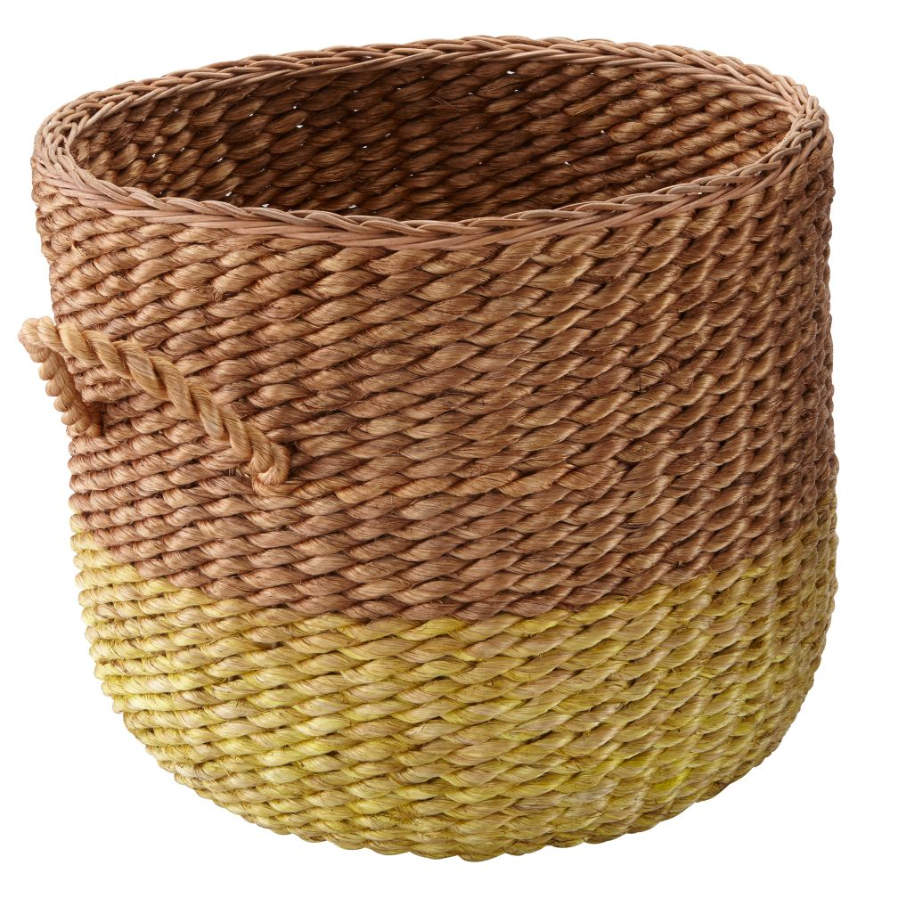 Half Tone Floor Basket (Yellow)