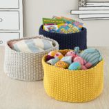 Kneatly Knit Medium Storage Bins