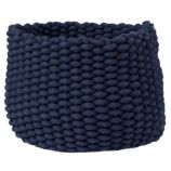 Small Kneatly Knit Rope Bin (Dk. Blue)