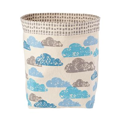Organic Landscape Floor Bin (Clouds)