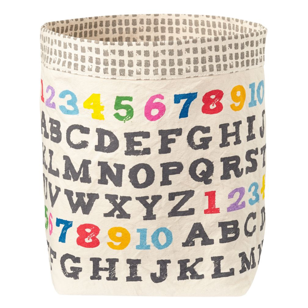 Landscape Floor Bin (Alphabet Print)