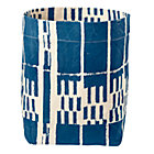 Blue Landscape Floor Bin