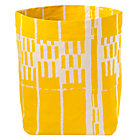 Yellow Landscape Floor Bin