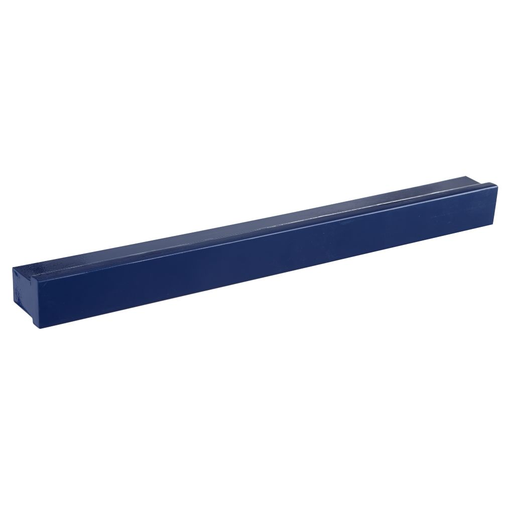"24"" Dk. Blue Metal Color Bar Ledge"