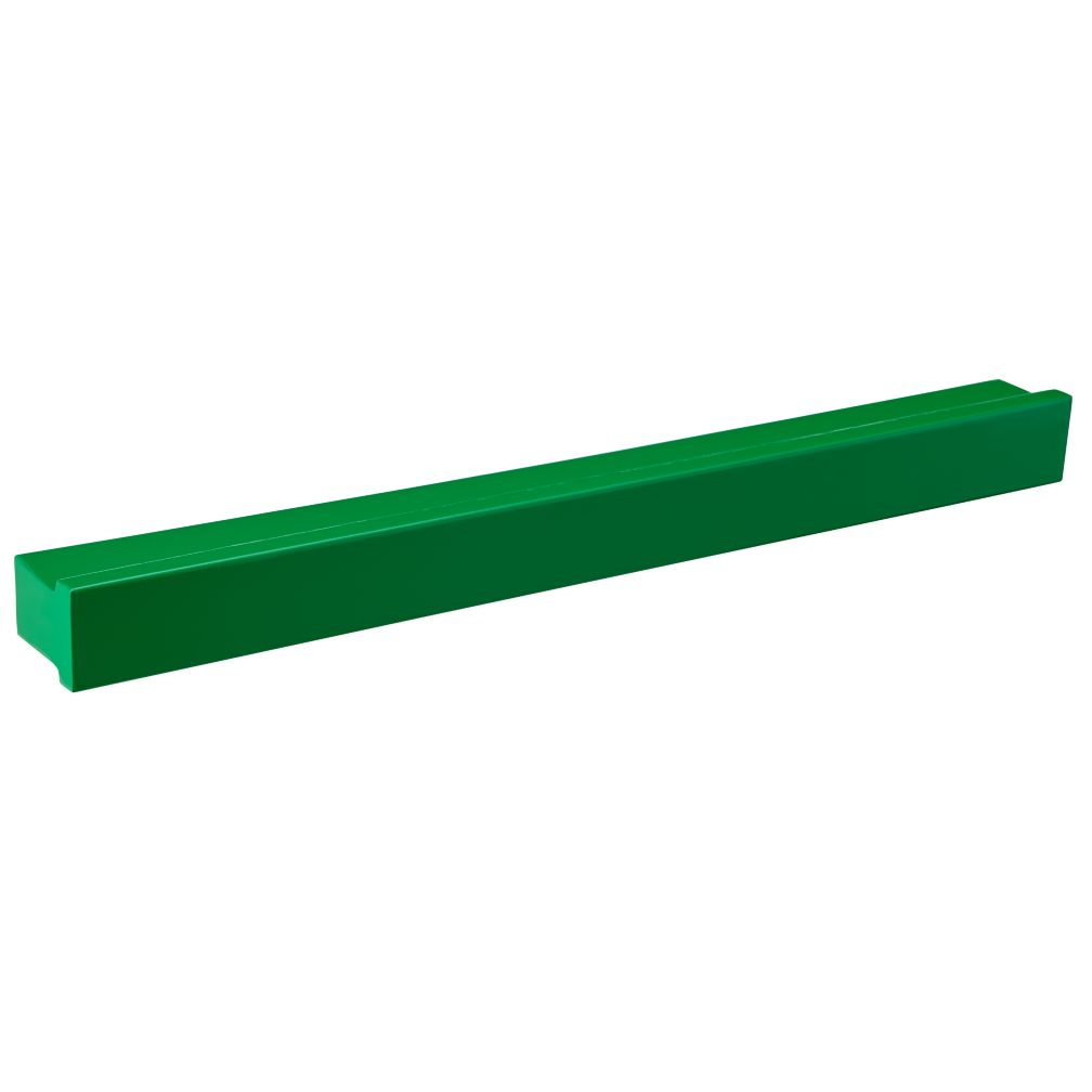 "24"" Green Metal Color Bar Ledge"