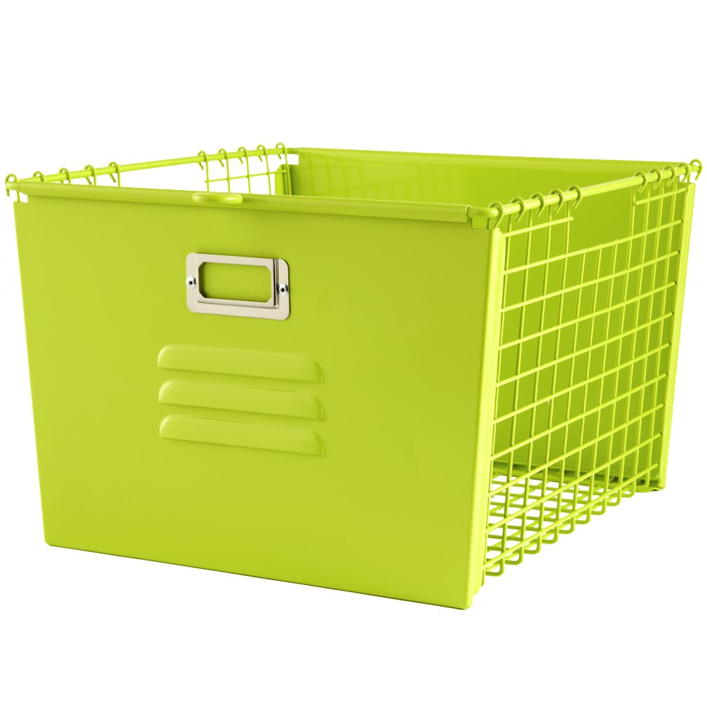 Saved by the Cube Bin Locker Basket (Green)