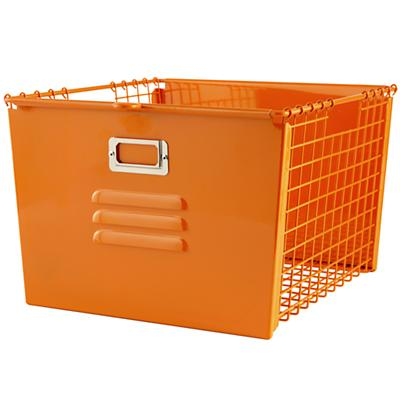 Saved by the Cube Bin Locker Basket (Orange)