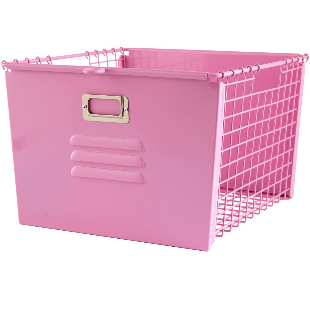 Saved by the Cube Bins Locker Basket (Pink)