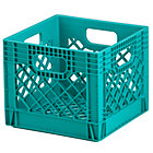 Aqua Milk Crate