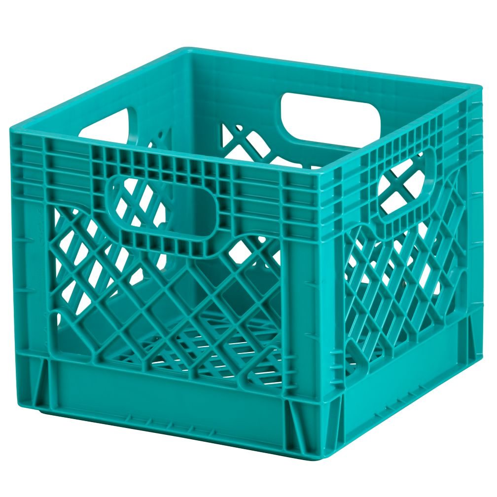Milk Crate (Aqua)