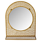 Gold Chantilly Mirror
