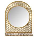 Chantilly Mirror (Gold)