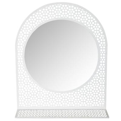 Chantilly Mirror (White)