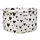 Black Love Struck Organic Floor Bin