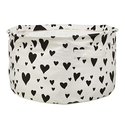 Love Struck Organic Floor Bin (Black)