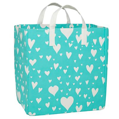 Love Struck Shopper Bag (Aqua)