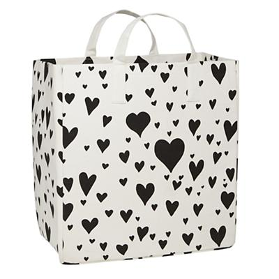 Love Struck Shopper Bag (Black)