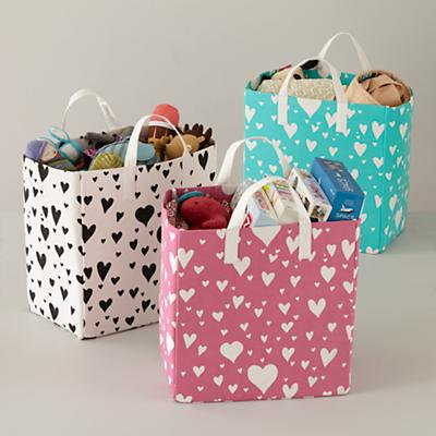 Love Struck Organic Shopper Bag