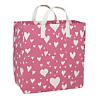 Pink Love Struck Heart Shopper Bag