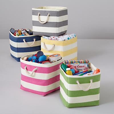 Storage_Paper_Stripe_Cube_Bin
