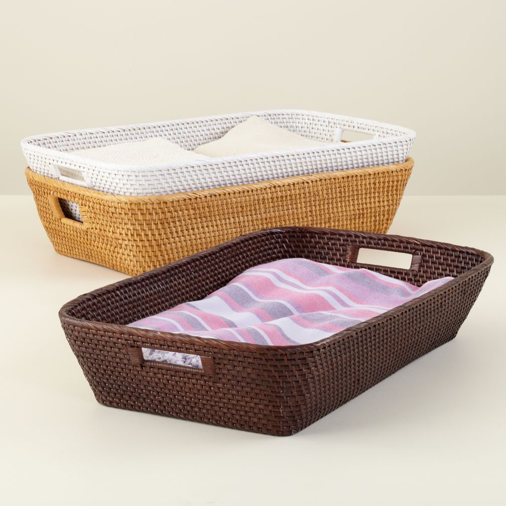 Rattan I Am Changer Basket