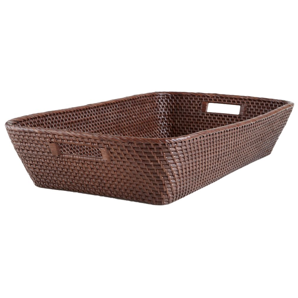 Rattan Changer Basket (Espresso)